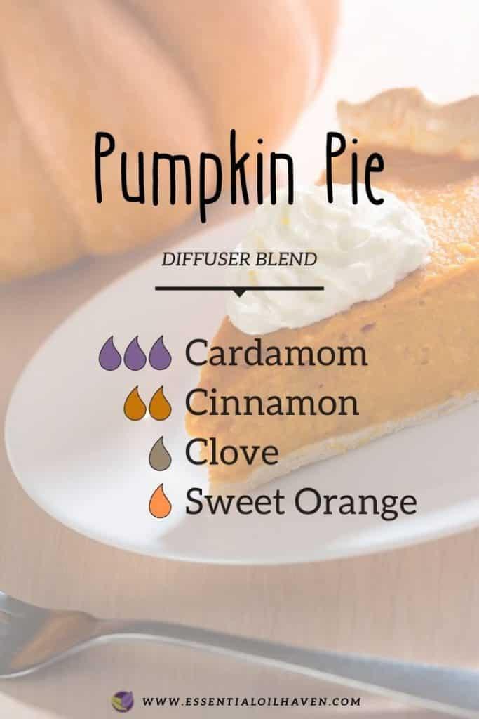 pumpkin pie fall diffuser blend