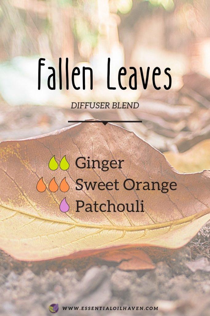 fall diffuser blend fallen leaves