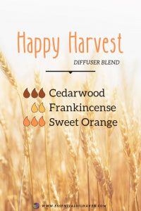 fall diffuser blend happy harvest
