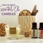 essential oil candle making recipe
