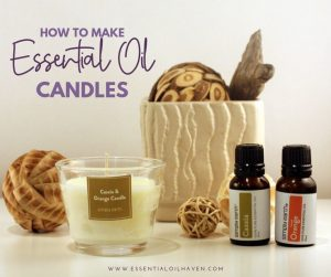 essential oil candle making recipe