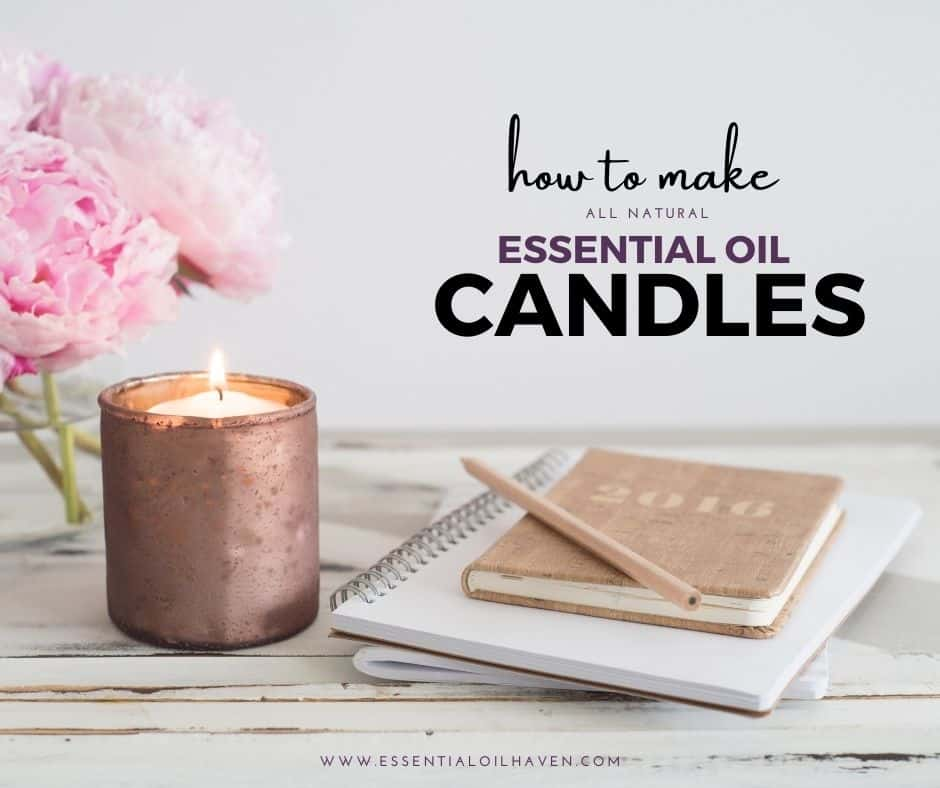 make essential oil candles
