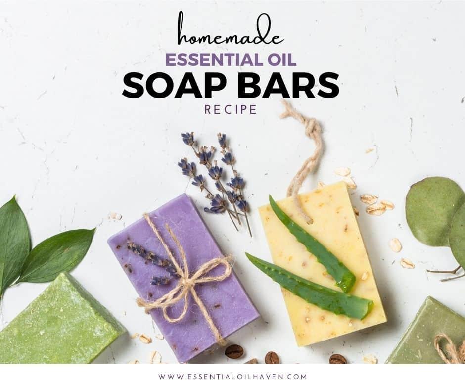 essential oil bar soap recipe