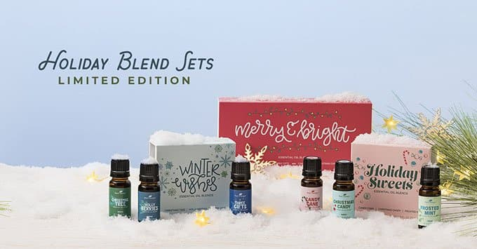 NEW Limited Edition Holiday Blend Sets on Plant Therapy!
