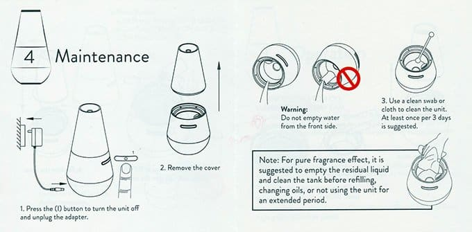 REVIVE diffuser manual
