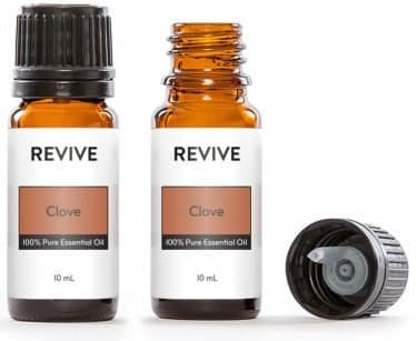 Two Clove Essential Oil Bottles