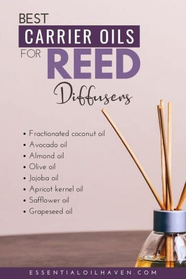 carrier oils for DIY reed diffusers