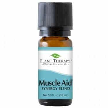 muscle aid essential oil blend
