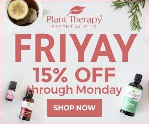 Friyay Sale! Save 15% on the Cypress, Germ Fighter, and Manuka Oils for a Limited Time Only!