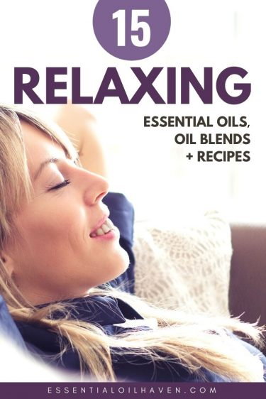 relaxing essential oils blends and recipes