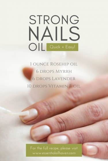 strong nails oil