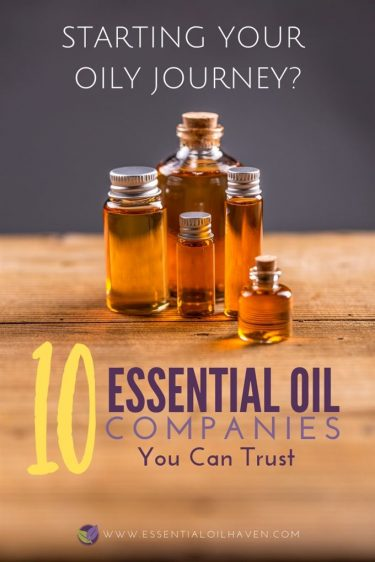 10 essential oil companies you can trust