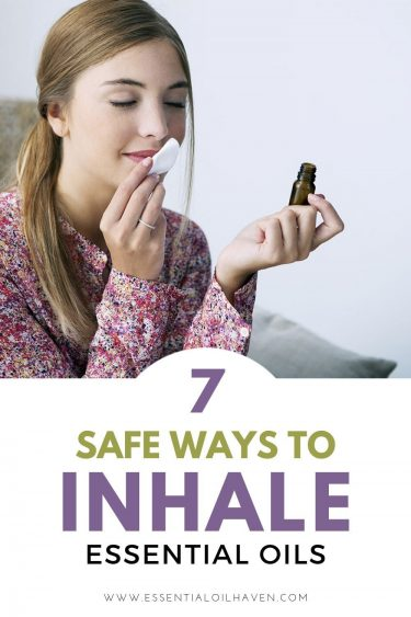 is it safe to inhale essential oils
