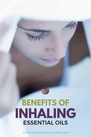 benefits from essential oil inhalation