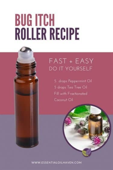 roll-on recipe for bug itch relief