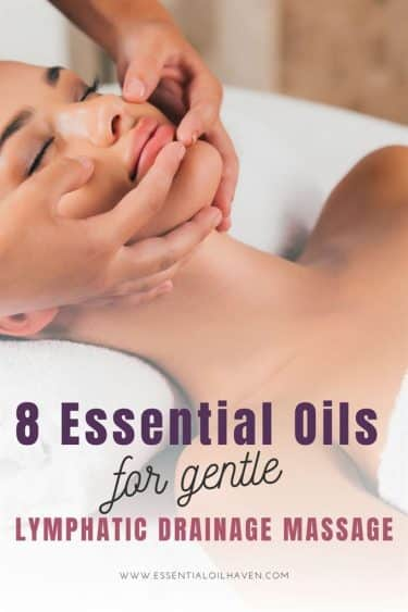 best essential oils for lymphatic drainage massage