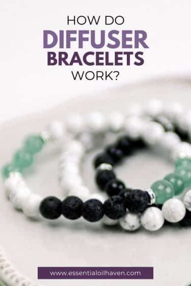 diffuser bracelets how to