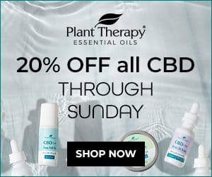 Plant Therapy 20% Off All CBD Products through Sunday