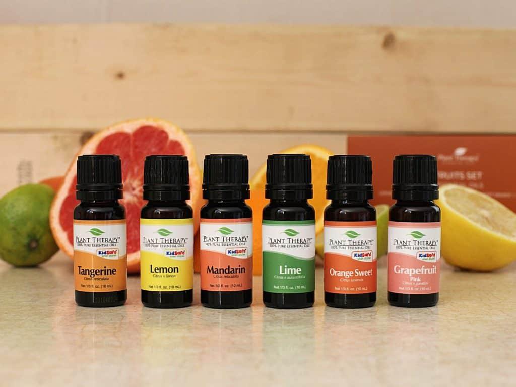 essential oils fruit set