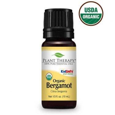 Bergamot Essential Oil Bottle