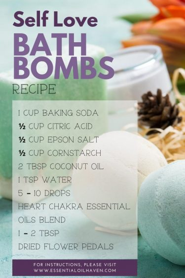 Heart Chakra Essential Oils Recipe