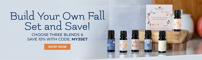 Fall 2020 Essential Oil Seasonal Products
