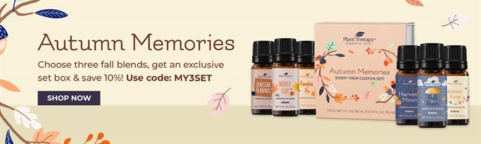 Autumn Memories Essential Oil Promotion