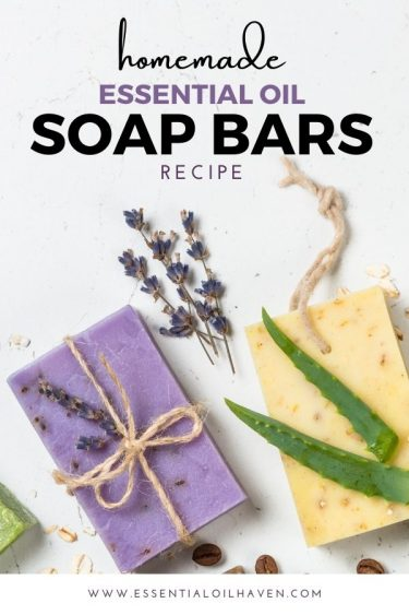 essential oil bar soap recipe for the holidays