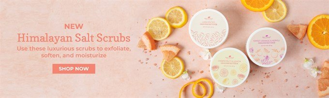 Himalayan Salt Body Scrubs from Plant Therapy