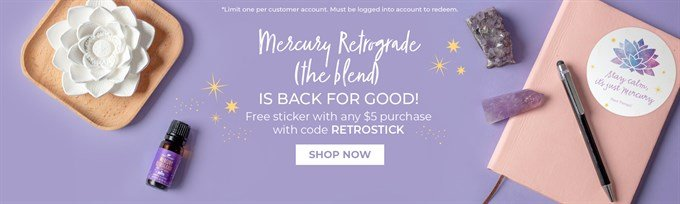 Mercury Retrograde Blend from Plant Therapy