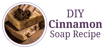 DIY Cinnamon Soap Bars