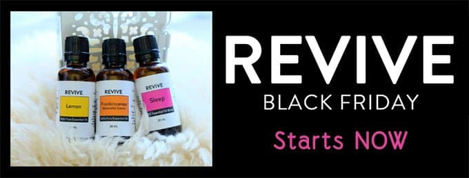 REVIVE Black Friday sale