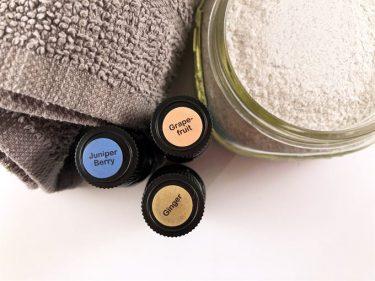 detox bath salts with essential oils