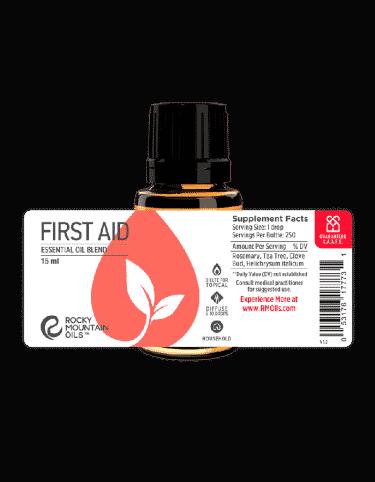 first aid blend