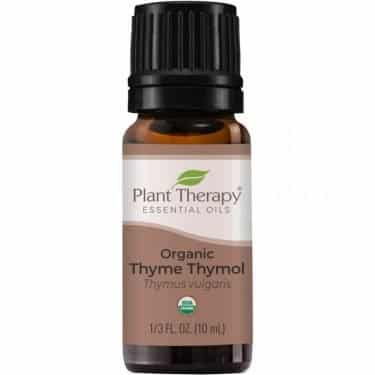organic thyme essential oil for snoring