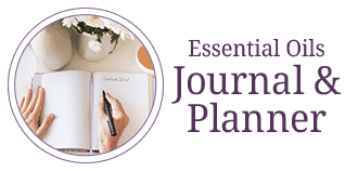 Essential Oils Journal Planner Workbook