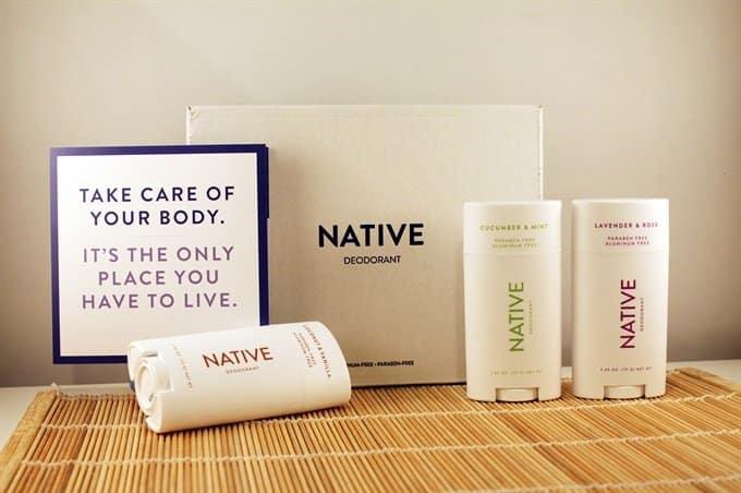NATIVE deodorant 3 pack