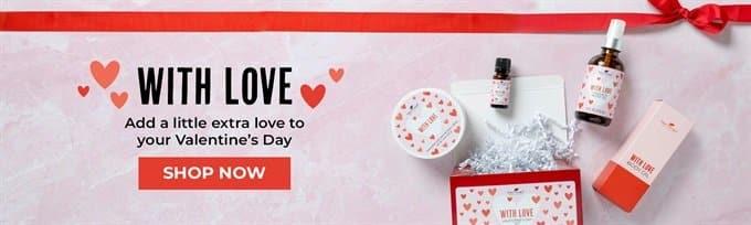valentines day essential oils