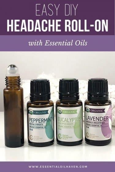 headache roller recipe