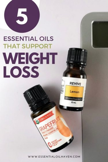 5 best essential oils for weight loss