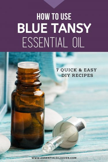 recipes with blue tansy essential oil