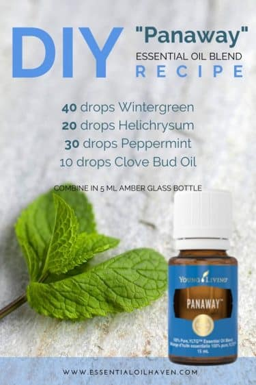 young living panaway recipe