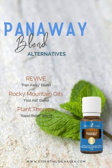 how to make panaway oil blend