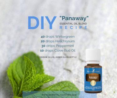 panaway oil recipe YL