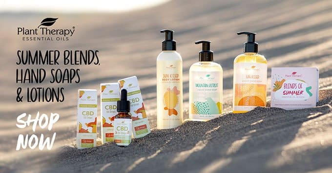 Sunny Days are Ahead With Plant Therapy - Shop Our Summer Products Today!